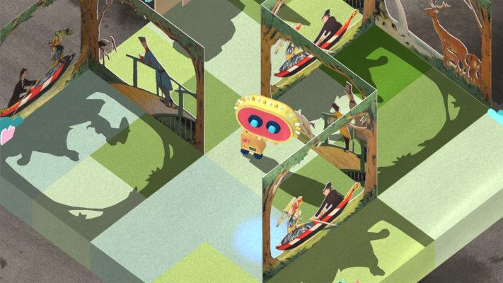 in-game-Grafik Bewegungsbücher Spiel