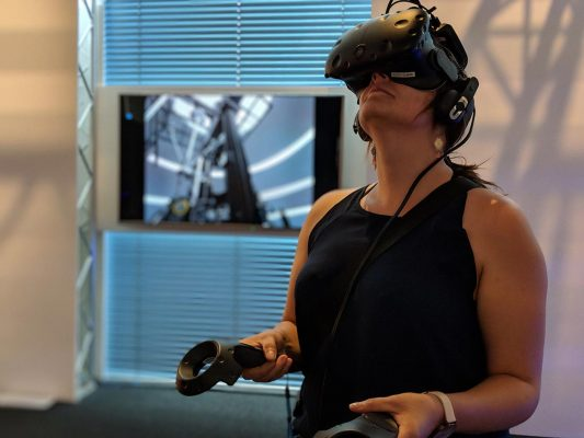 VRlab: Interaktion mit virtuellen Museumsobjekten
