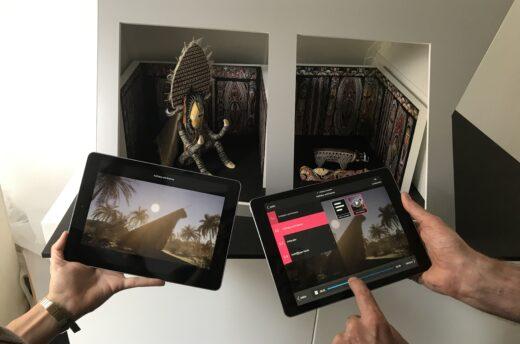 Augmented-Reality-Tool für interaktive Gruppenführungen